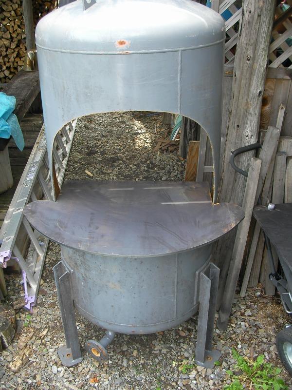 圧力タンク改BBQタンク